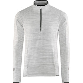 Craft Grid Halfzip Men grey melange